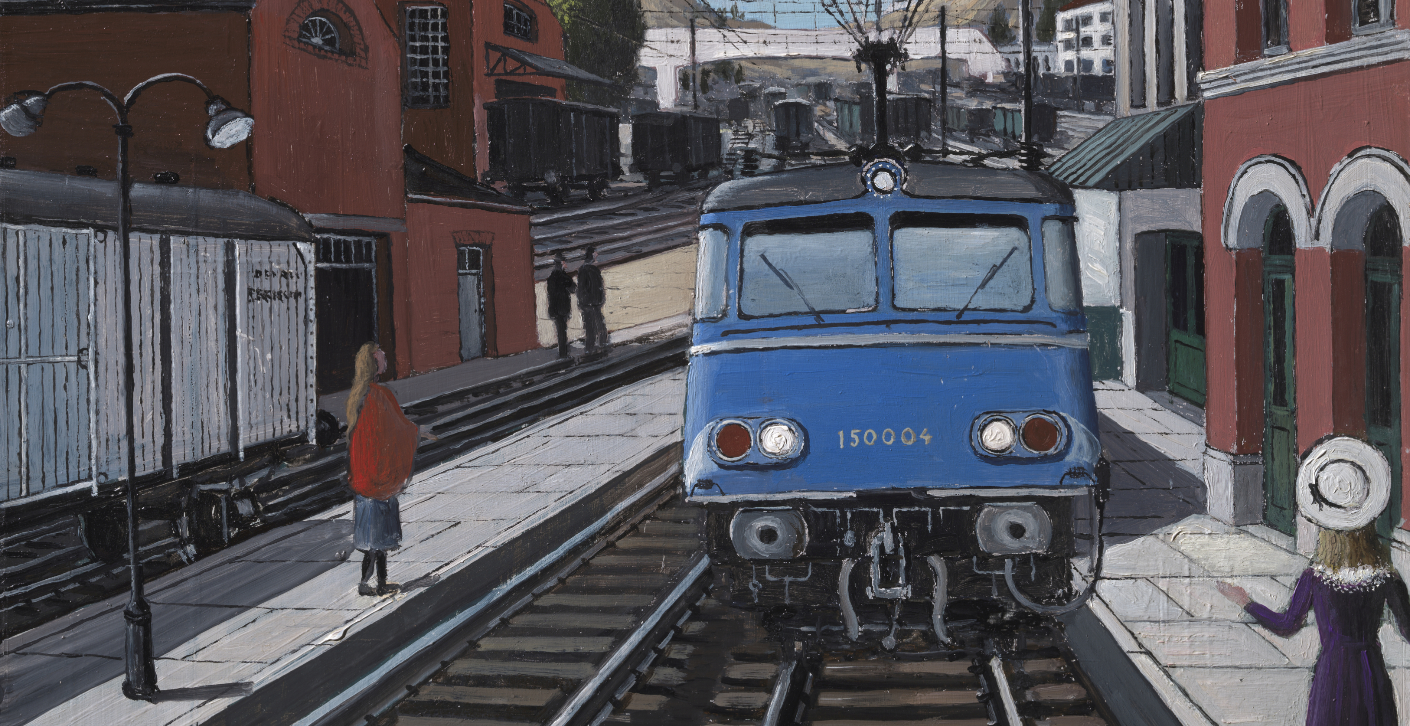Quatre oeuvres de Paul Delvaux viennent compléter la collection de Train World