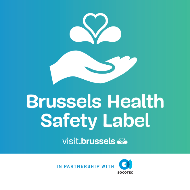 "Train World a reçu le ""Brussels Health Safety Label"""